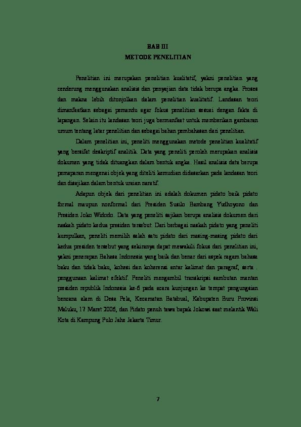 Contoh Bab Hasil Dan Pembahasan Skripsi Kumpulan Cute766