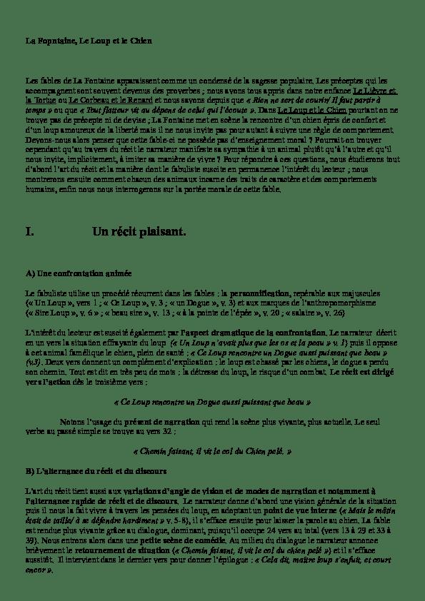 Le Loup Et Le Chien Pdf : chien, Chien, Commentaire, Elisabeth, Leclerc, Academia.edu