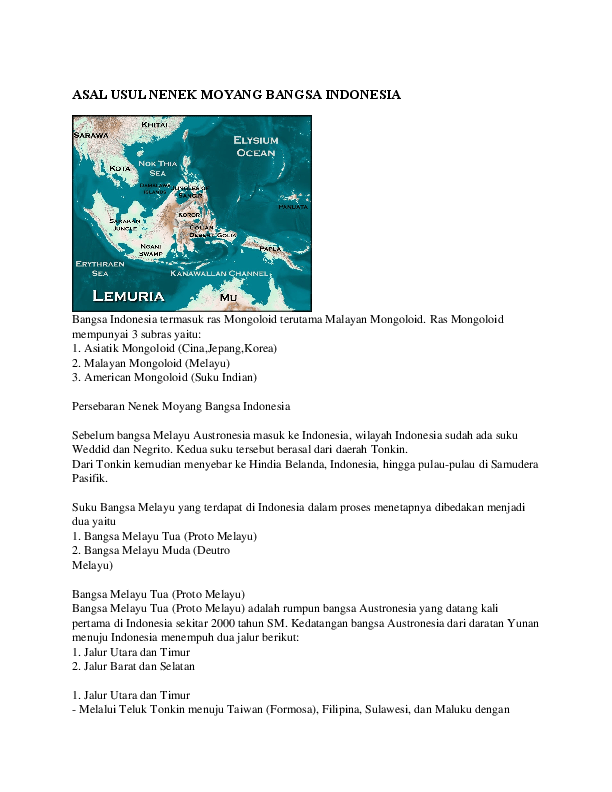 Peta Persebaran Nenek Moyang Bangsa Indonesia : persebaran, nenek, moyang, bangsa, indonesia, Indonesia:, Gambar, Jalur, Kedatangan, Nenek, Moyang, Bangsa, Indonesia