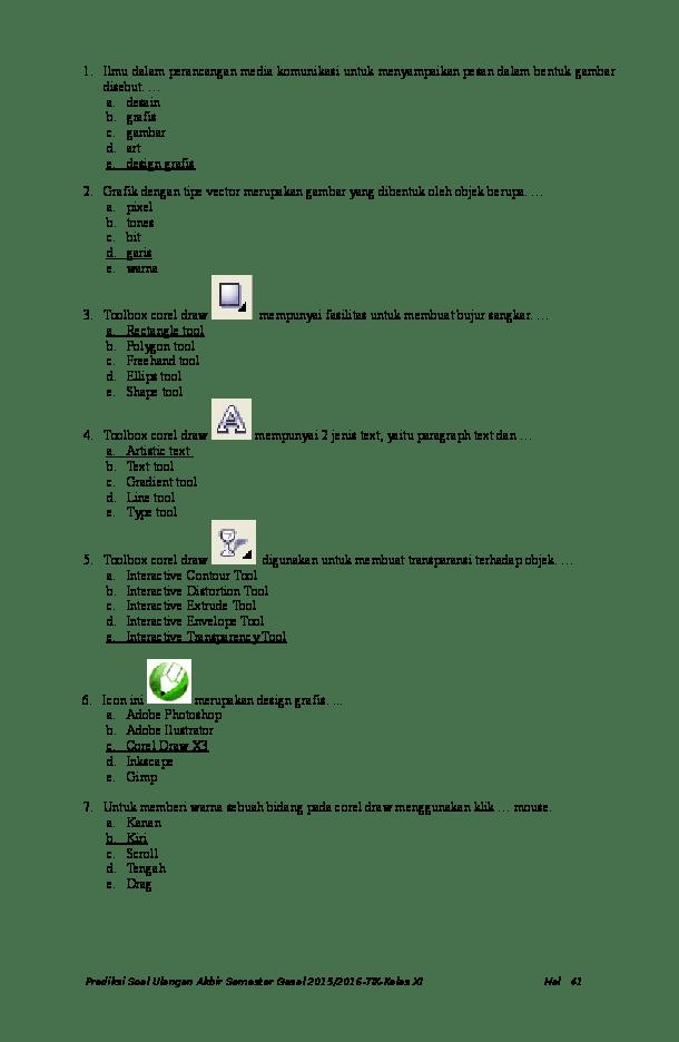 Fasilitas Untuk Menempatkan Teks Pada Path Disebut : fasilitas, untuk, menempatkan, disebut, Latihan, Adobe, Photoshop, Nurista, Indira, Academia.edu
