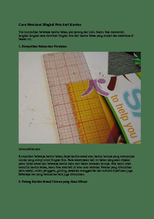 Cara Membuat Frame Foto Dari Kardus : membuat, frame, kardus, Bingkai, Photo, Kardus, Kumpulan, Frame