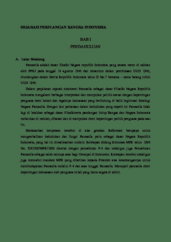 Makalah Sejarah Perjuangan Bangsa Indonesia : makalah, sejarah, perjuangan, bangsa, indonesia, SEJARAH, PERJUANGAN, BANGSA, INDONESIA, Putri, Academia.edu