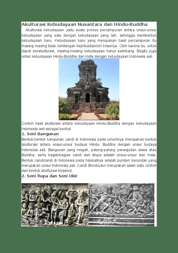 Akulturasi Budaya Di Indonesia : akulturasi, budaya, indonesia, Akulturasi, Budaya, Research, Papers, Academia.edu
