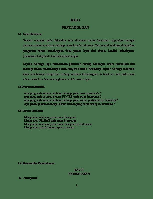 Sejarah Perkembangan Olahraga Di Indonesia : sejarah, perkembangan, olahraga, indonesia, Sejarah, Olahraga, Dhani, Indaryanto, Academia.edu