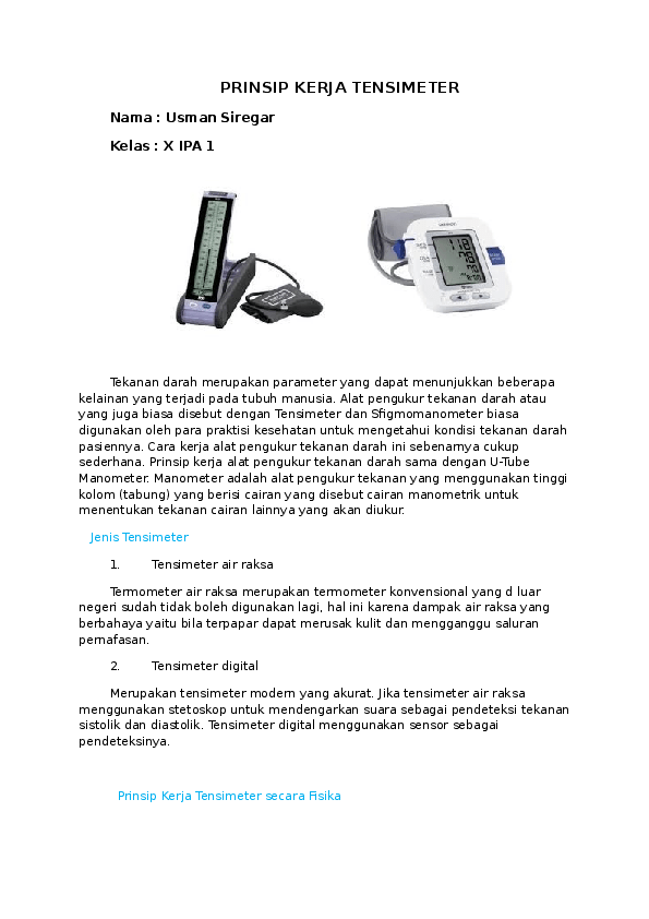 [Jawaban] Alat Untuk Mengukur Tekanan Atmosfer   Fisika