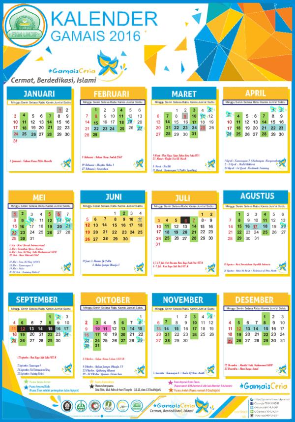 Kapan Puasa Arafah 2016 : kapan, puasa, arafah, Kalender, Puasa, (Fasting, Calender), Achmad, Rizki, Azhari, Academia.edu