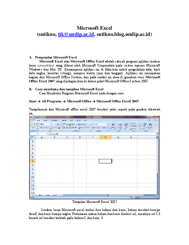 Gambar Lembar Kerja Microsoft Excel : gambar, lembar, kerja, microsoft, excel, Lembar, Kerja, Microsoft, Excel, Disebut, Dengan, Sebutkan