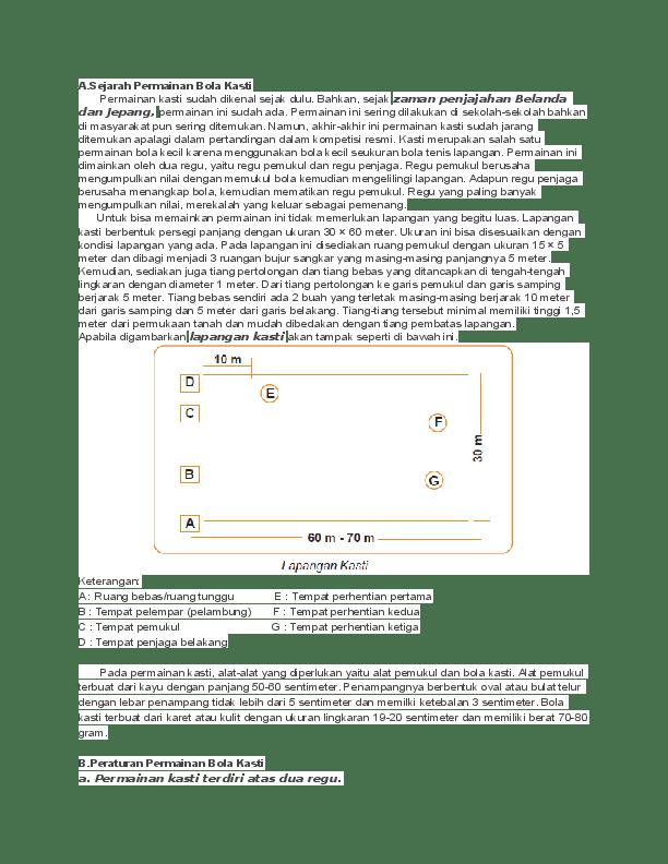 Panjang Pemukul Kasti : panjang, pemukul, kasti, Kasti, Wiwit, Suprihatin, Academia.edu