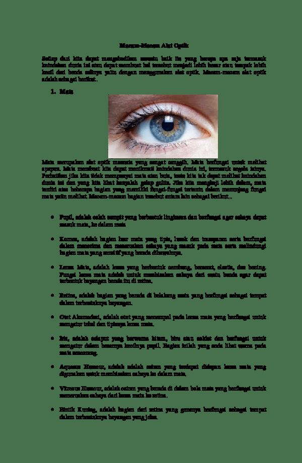 Fungsi Mata | Fungsi dan Info