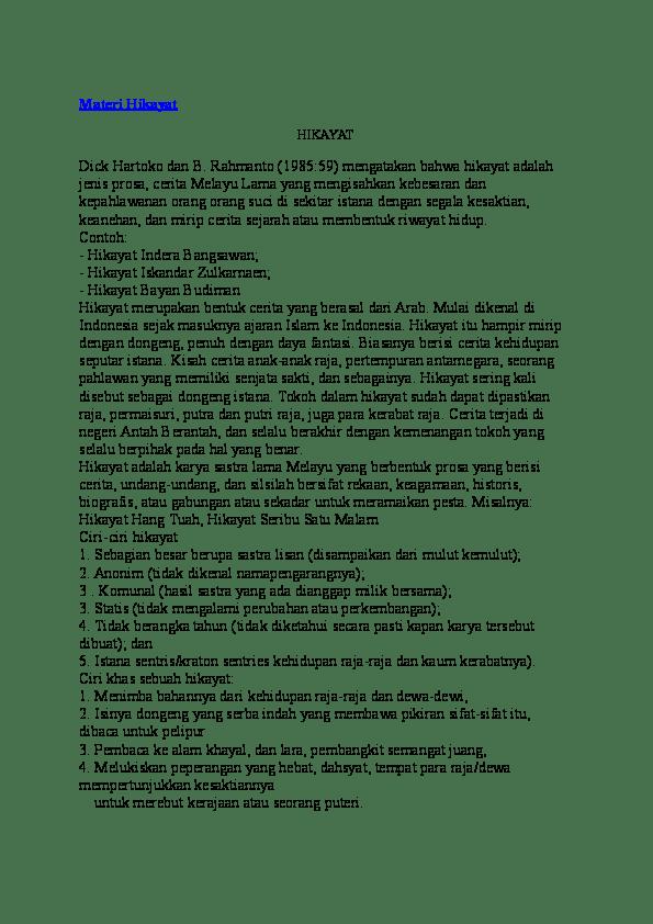 Istana Sentris Adalah : istana, sentris, adalah, Materi, Hikayat, Zulfahmi, Darlis, Academia.edu