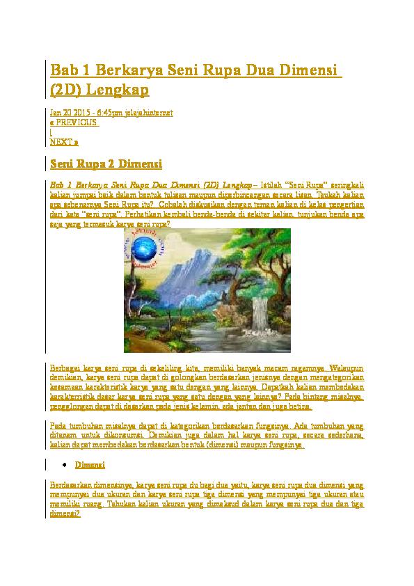 Berkarya Seni Rupa Dua Dimensi : berkarya, dimensi, Berkarya, Dimensi, Lengkap, Grace, Sudidi, Academia.edu