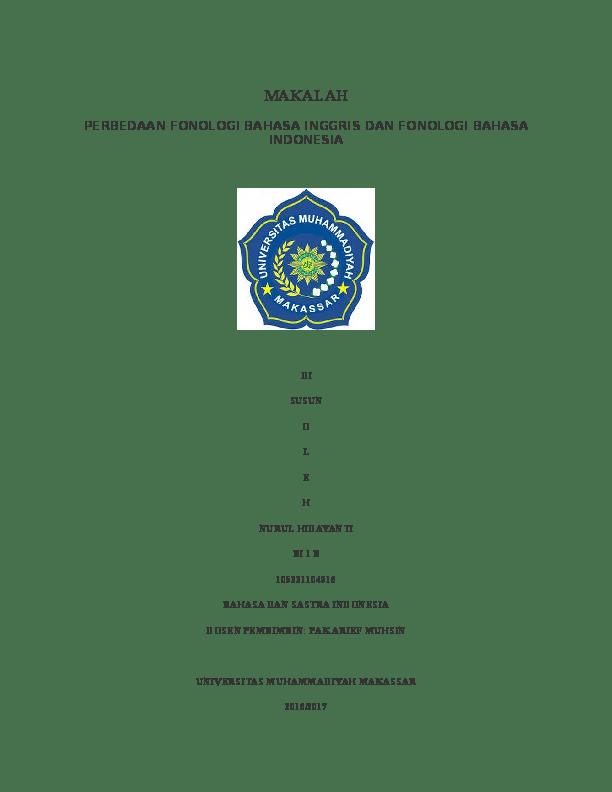 Makalah Bahasa Inggris : makalah, bahasa, inggris, TUGAS, MAKALAH, BAHASA, INGGRIS, Nurul, Hidayanti, Academia.edu