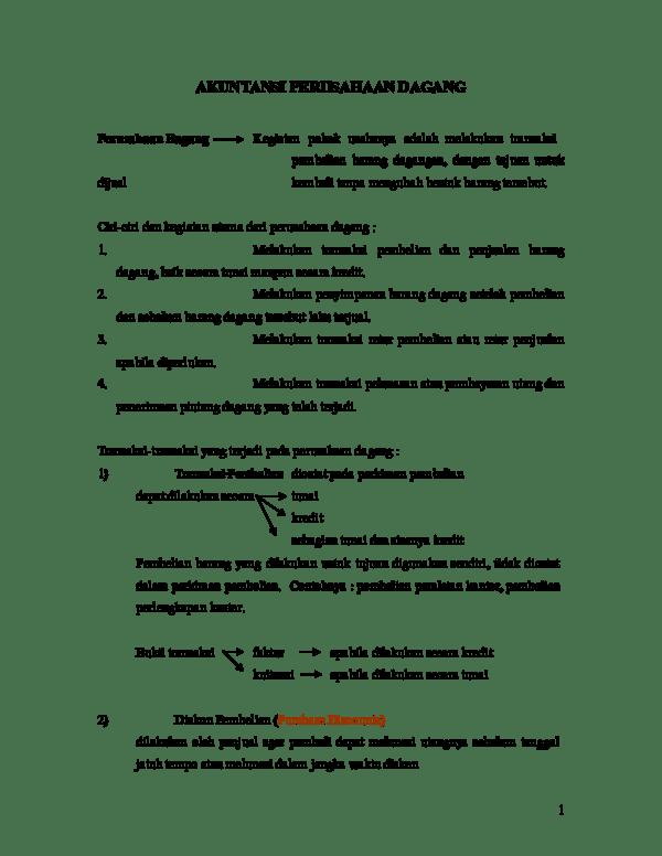 Bukti Transaksi Pembelian Barang Yang Dilakukan Secara Kredit Yaitu : bukti, transaksi, pembelian, barang, dilakukan, secara, kredit, yaitu, AKUNTANSI, PERUSAHAAN, DAGANG, Monalisa, Academia.edu