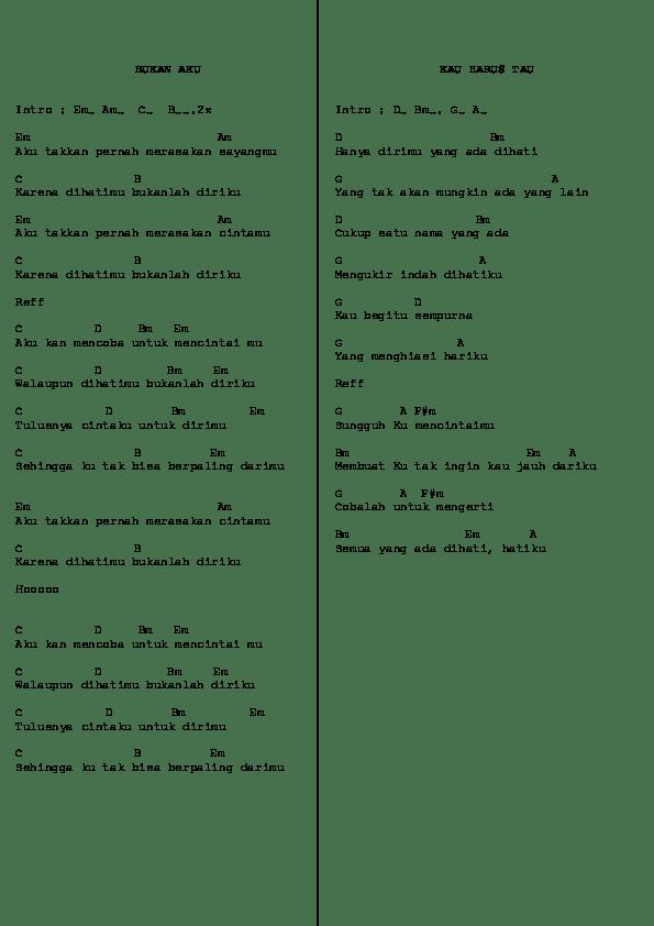 Chord Karamnya Cinta Ini : chord, karamnya, cinta, Chord, Restart, Band.docx, Hakim, Academia.edu