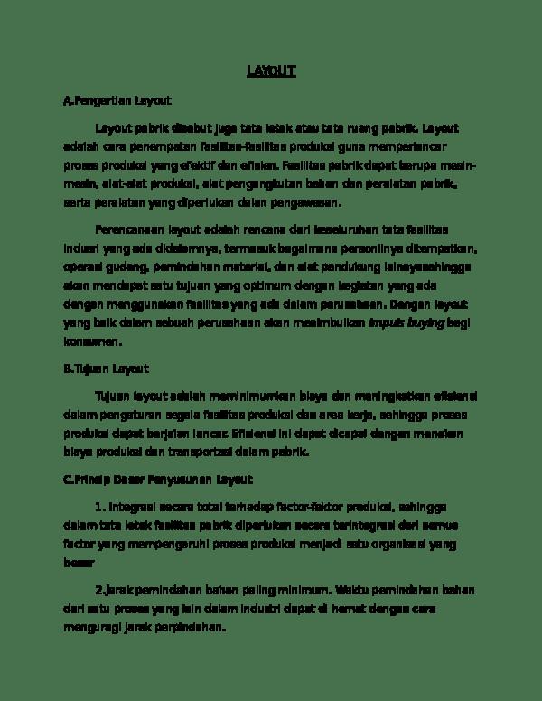Pengertian Lay Out : pengertian, LAYOUT, Nurwiyanti, Academia.edu