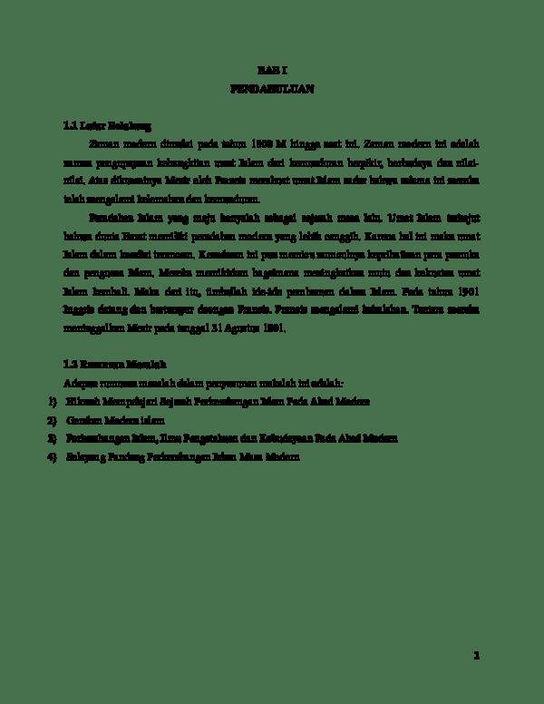 Hikmah Mempelajari Sejarah Perkembangan Islam Pada Masa Modern : hikmah, mempelajari, sejarah, perkembangan, islam, modern, Makalah, Agama, Academia.edu
