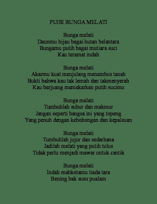 Contoh Puisi Bunga : contoh, puisi, bunga, Kumpulan, Puisi, Tentang, Bunga, Indah