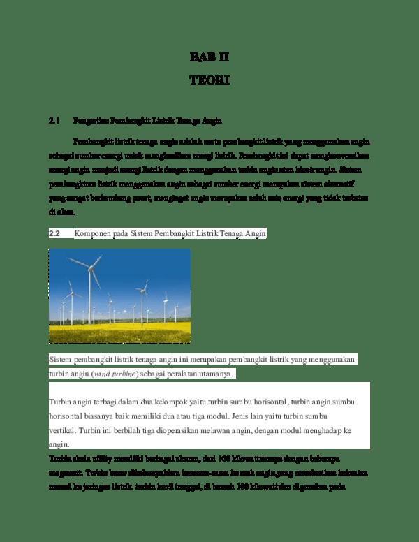 Kelebihan Pembangkit Listrik Tenaga Angin : kelebihan, pembangkit, listrik, tenaga, angin, Teori, Aditya, Luthfi, Academia.edu