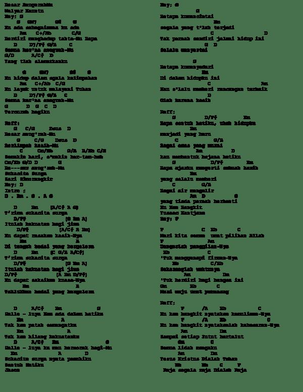 Lirik Lagu Ku Ada Sebagaimana Ku Ada : lirik, sebagaimana, Dopeng, Academia.edu