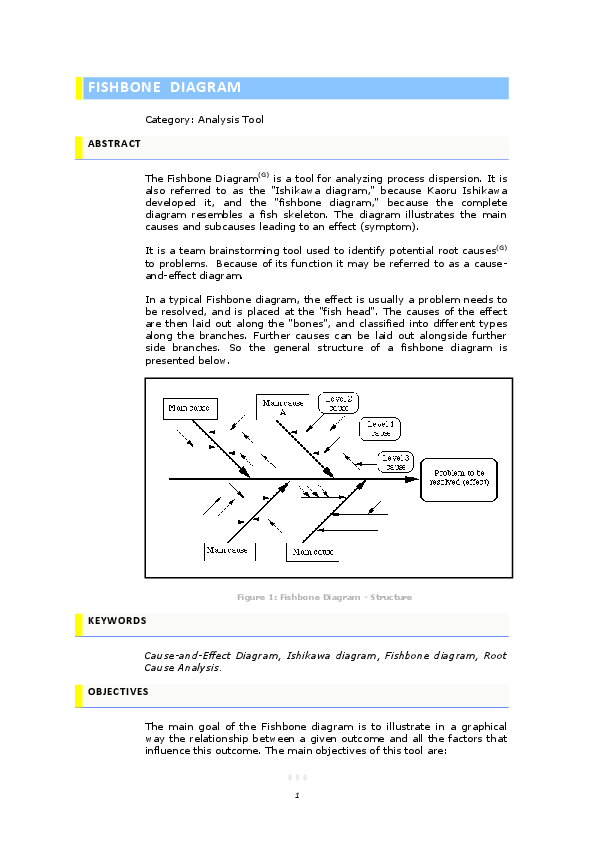 root cause analysis fishbone diagram example ford sony radio wiring fish bone for in software testing pdf