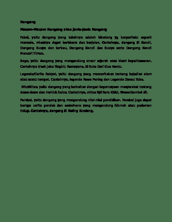 Jenis Jenis Dongeng : jenis, dongeng, Macam, Dongeng, Lilis, Holisah, Academia.edu