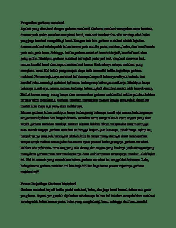 Apa Yang Dimaksud Dengan Gerhana : dimaksud, dengan, gerhana, Pengertian, Gerhana, Matahari, M.Rizky, Pratama, Ginting, Academia.edu
