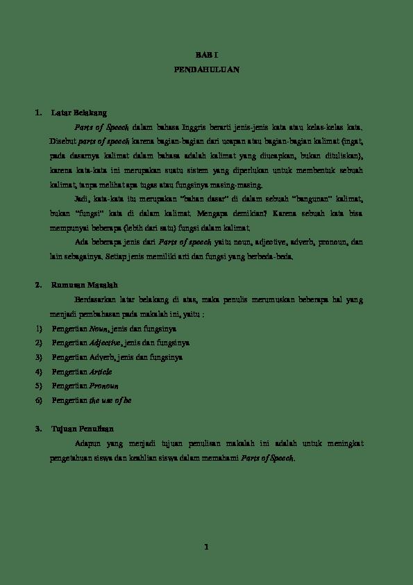 Makalah Part Of Speech : makalah, speech, MAKALAH, Sandi, Pratama, Academia.edu
