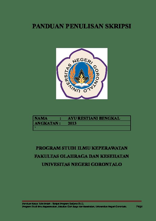 Logo Universitas Negeri Gorontalo : universitas, negeri, gorontalo, Gambar, Universitas, Negeri, Gorontalo, Paimin