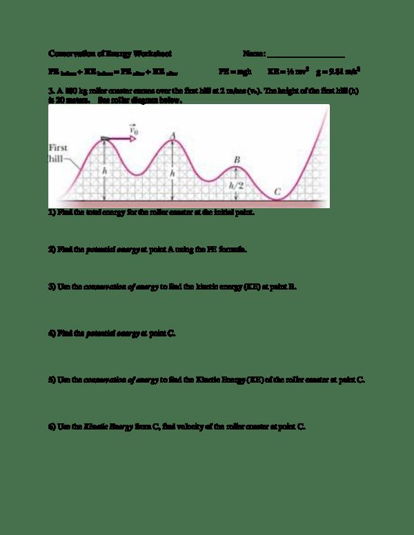 Conservation Of Energy Worksheet Answer Key Pdf : conservation, energy, worksheet, answer, ZoneAlarm, Results