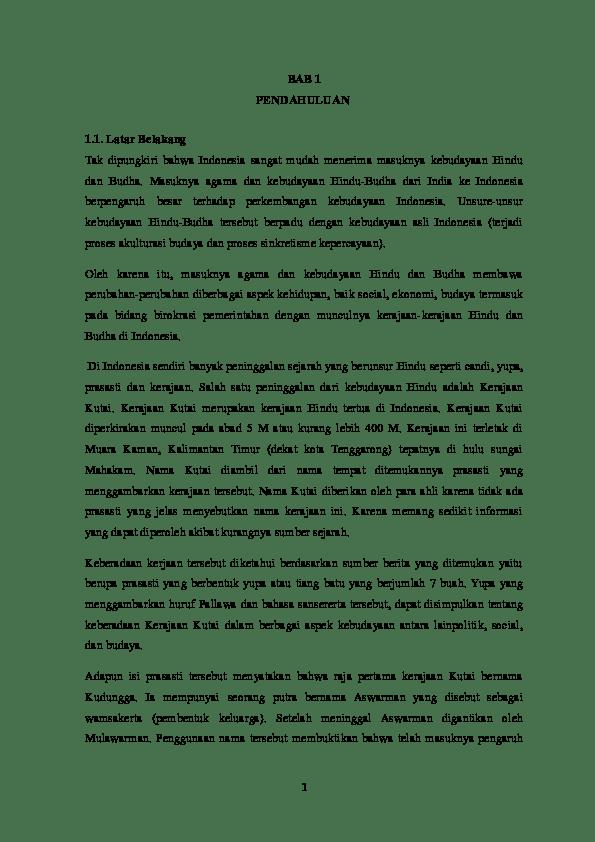 Makalah Sejarah Kerajaan Kutai : makalah, sejarah, kerajaan, kutai, Makalah, Kerajaan, Kutai, Academia.edu