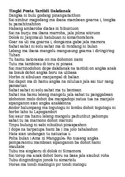 Contoh Mandok Hata Mangapuli : contoh, mandok, mangapuli, PARADATON, BATAK.doc, Siallagan, Academia.edu