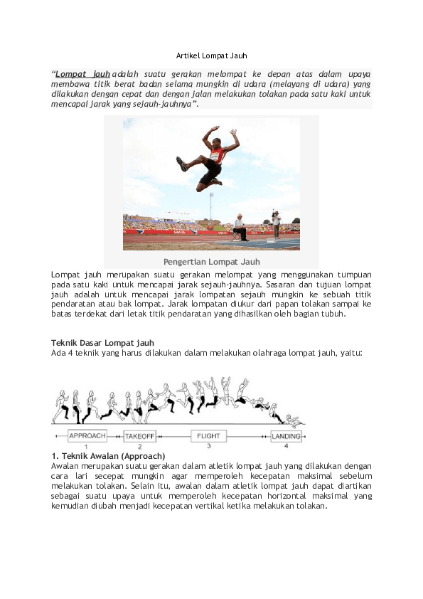 Pengertian Lompat : pengertian, lompat, Informasi, Duri:, Pengertian, Lompat