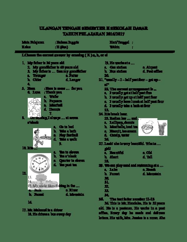 Bahasa Inggrisnya Om : bahasa, inggrisnya, ULANGAN, TENGAH, SEMESTER, BAHASA, INGGRIS, SEKOLAH, DASAR, TAHUN, PELAJARAN, 2016/2017, Hastindra, Laila, Academia.edu