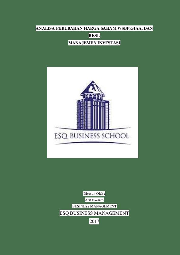 Harga Saham Bksl : harga, saham, ANALISA, PERUBAHAN, HARGA, SAHAM, WSBP,GIAA,, MANAJEMEN, INVESTASI, Iswanto, Academia.edu