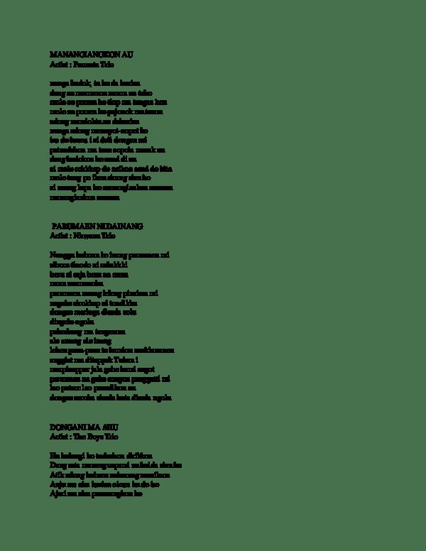 Lirik Patik Palimahon : lirik, patik, palimahon, Lirik, Nauli, Arsia