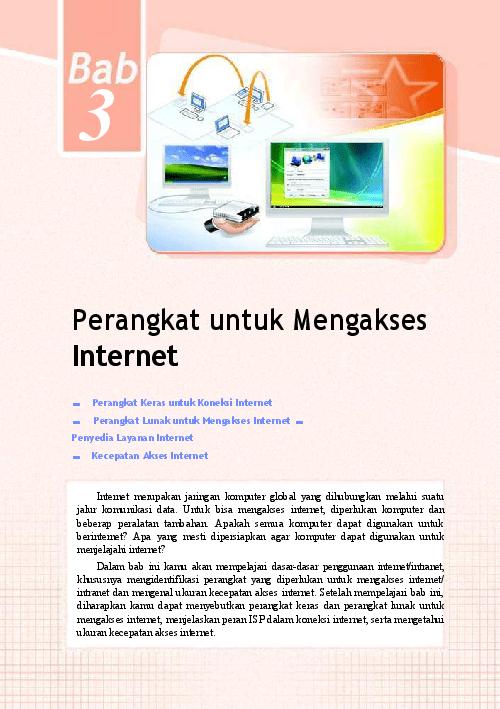 Sebutkan Syarat Syarat Koneksi Ke Internet : sebutkan, syarat, koneksi, internet, 3-Perangkat, Untuk, Mengakses, Internet, Ismail, Academia.edu