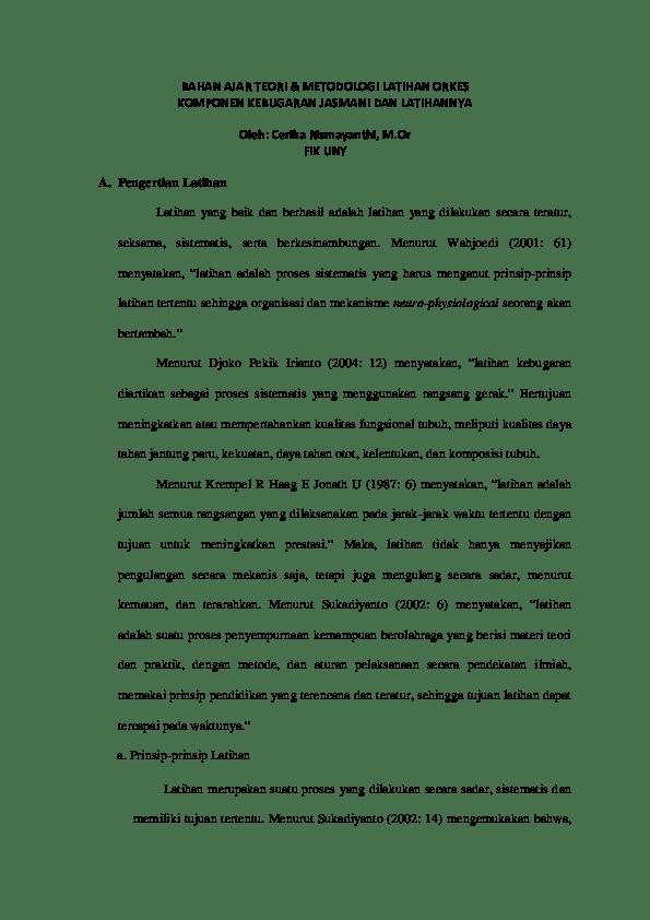 Prinsip Latihan Kebugaran Jasmani : prinsip, latihan, kebugaran, jasmani, TM+Lat+Orkes, +Kebugaran+Jasmani(1), Aditya, Academia.edu
