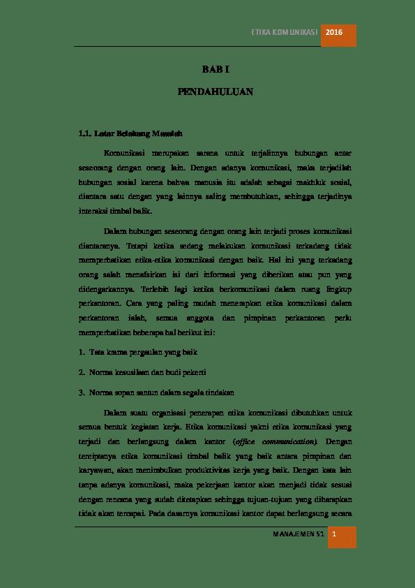 Makalah Etika Komunikasi : makalah, etika, komunikasi, ETIKA, KOMUNIKASI, Rohikmah, Academia.edu