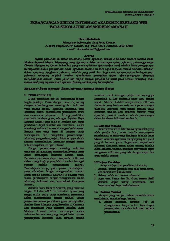 Contoh Abstrak Skripsi Sistem Informasi Penjualan Berbasis Web Curatoh Cute766