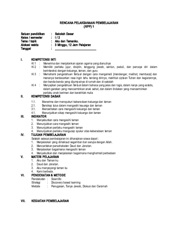 Rpp Agama Kristen Sd Kelas 1-6 : agama, kristen, kelas, Program, Tahunan, Pendidikan, Agama, Kristen