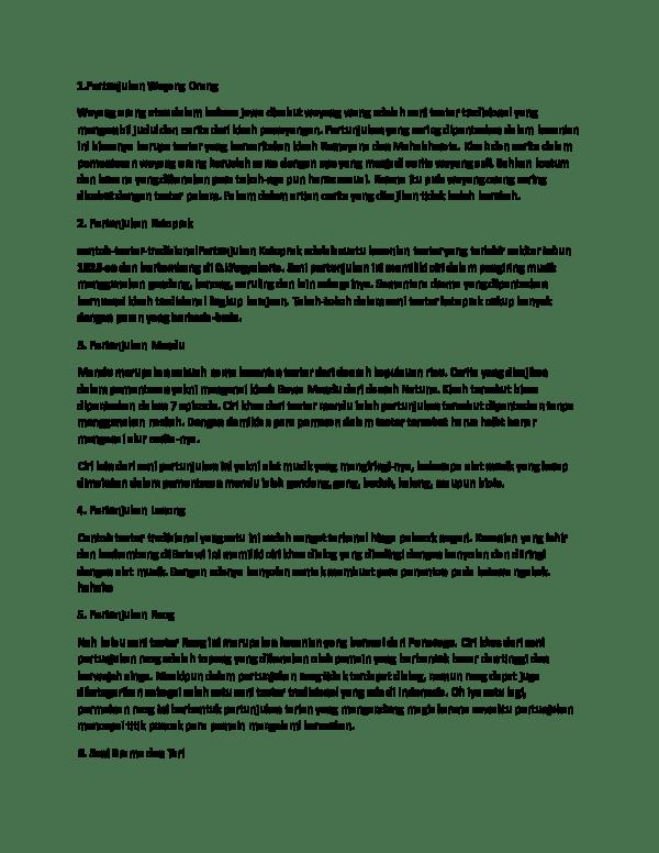 Contoh Naskah Teater Tradisional : contoh, naskah, teater, tradisional, Contoh, Pertunjukan, Teater, Tradisional, Nusantara[1], Cindianaa, Academia.edu