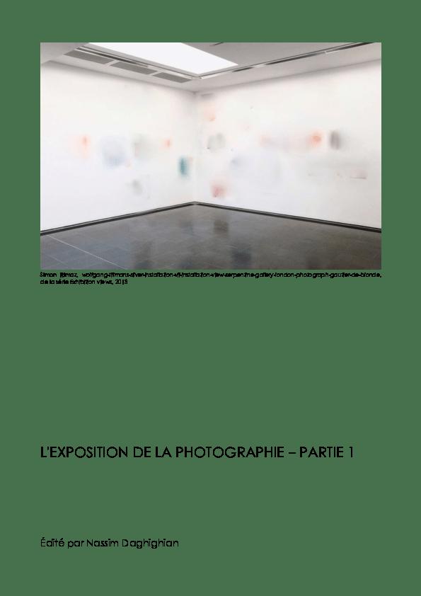 Les Bases De La Photographie Pdf : bases, photographie, EXPOSITION, PHOTOGRAPHIE, Nassim, Daghighian, Academia.edu