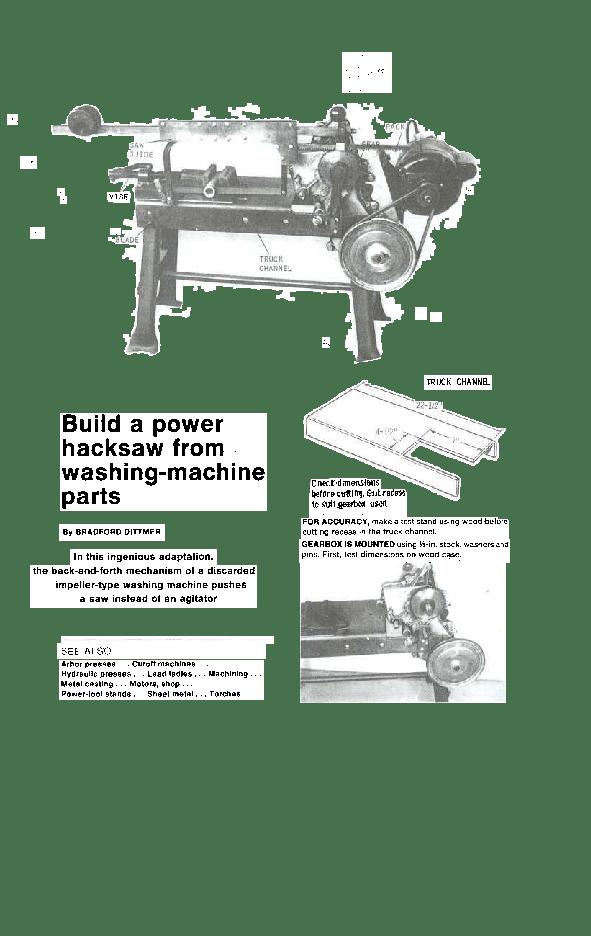 Hacksaw Parts