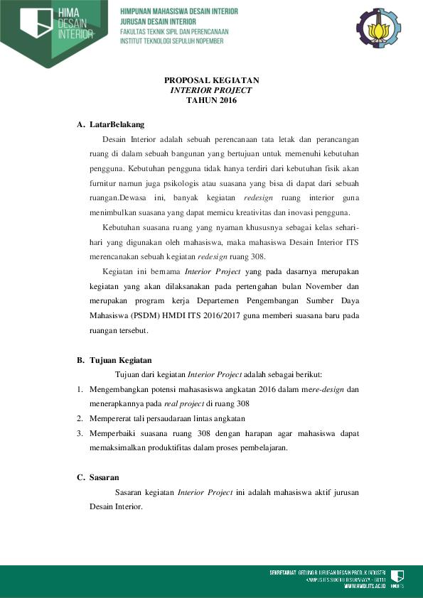 Contoh Proposal Word : contoh, proposal, CONTOH, PROPOSAL, KEGIATAN, Wahyuliana, Academia.edu