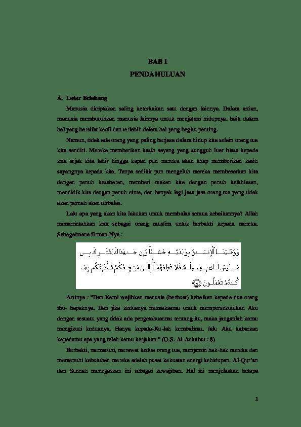 Hikmah Berbakti Kepada Orang Tua Dan Guru : hikmah, berbakti, kepada, orang, Hadis:, Hadis, Berbakti, Kepada, Orang, Amalia, Academia.edu