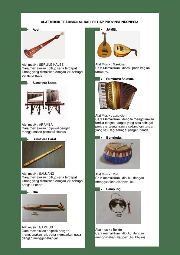 Jenis Alat Musik Tradisional Sumatera Utara : jenis, musik, tradisional, sumatera, utara, Jenis, Musik, Tradisional, Sumatera, Utara