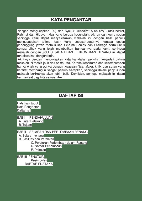Sejarah Renang Singkat : sejarah, renang, singkat, Makalah, Renang, Fitria, Permana, Academia.edu