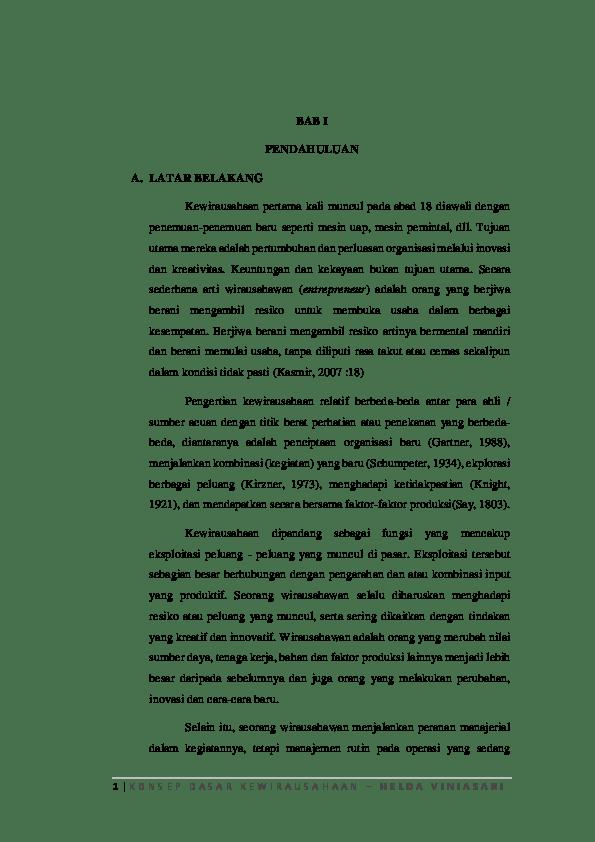 7 Pengertian Kewirausahaan Menurut Para Ahli - Projasaweb