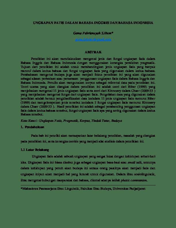 Kesalahan Umum Bahasa Inggris Yang Sering Digunakan Orang Indonesia Onelifes Cute766