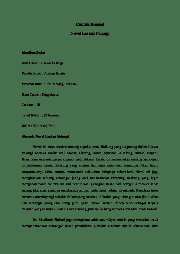 Sinopsis Novel Pendek : sinopsis, novel, pendek, Contoh, Sinopsis, Novel, Pendek, Kumpulan, Makalah, Lengkap
